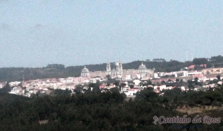Vista para o Convento de Mafra